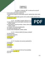 Capitol 12 Ciclul Celular ROM