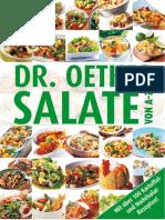 Oetker, Dr. - Salate Von a-Z
