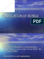 Purification of Beings