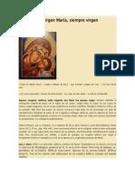 LA VIRGEN MARÍA, SIEMPRE VIRGEN (P. JOSÉ MARÍA IRABURU)