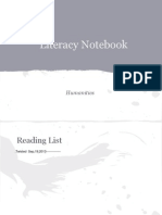 literacy notebook