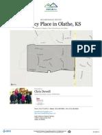 Regency Place Subdivision in Olathe, KS. Real Estate Neighborhood Report