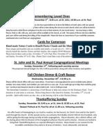 Special Events, November 2013.docx