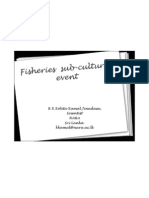 Fisheries Sub-cultural Event