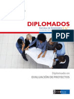 Folleto Diplomado en Ev de Proyectos