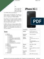 Caracteristicas iPhone 3gs