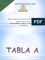 TABLA A - DEL ADR EUROPA 2011