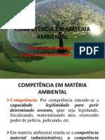 Competencia Em Materia Ambiental