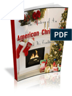 History of An American Christmas by Xavier Buchanan