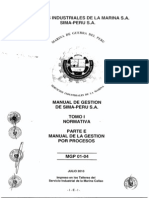 SIMA-PERU 1b1d Manual Procesos