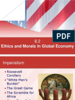 ethics and morals in global economy