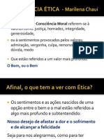 Ética - Marilena Chaui 2013