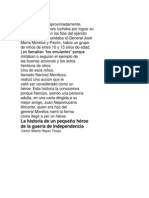 LITERATURA   3 º PRIMARIA TEXTO