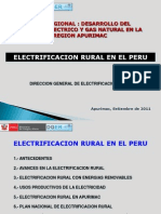 7.Logros y Perpestivas de La Electrificacion Rural en El Peru