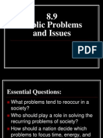 8 9 - public problems and issues