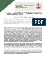 PROYECTO DE EXPLORACIÓN DE SUELOS EDIFICIO LOS ANGELES VIII BIO BIO