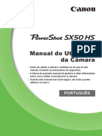 PowerShot SX50 HS Camera User Guide PT