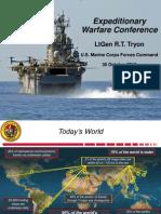Marine Corps operational update, 2013
