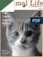 Animal Life E- Edition October 2013