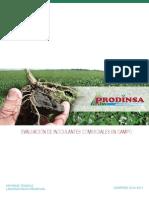 Prodinsa - Informe Evaluación Inoculantes