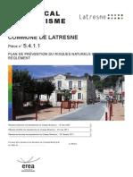 5411 PPRI_Bdx Reglement Latresne PLU Approuve RV