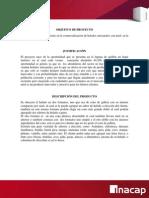 EVALUACION Y PREPARACION DE PROYECTO N°1