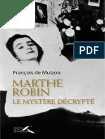 Marthe Robin - François de Muizon