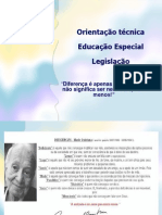 EDUCAÇÃO TÉCNICA ED. ESPECIAL 2013
