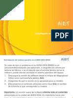 AIRIS KIRA N9000 - Guía actualización Android
