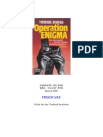 Barak, Michael - Operation Enigma