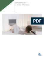 Upc Instrukcja Obslugi Modemu Thomson Twg870-Eu