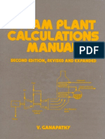 Steam Plant Calculations Manual, 2E, Revised and Expanded v. Ganapathy