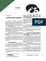 Coach Ferentz - 11 5 13 (2)