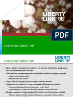 Cotton Trait Pipeline - LibertyLink Seed Trait