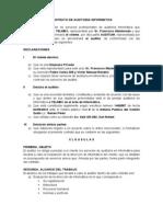 Contrato de Auditoria Informatica Sub