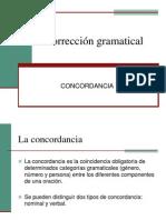 concordancia gramtical