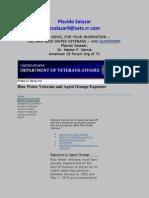 Blue Water Veterans and Agent Orange Exposure - Public Health