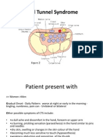 carpal tunnel syndrome power point presentation