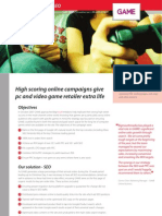 SEO and PPC Case Study  - GAME