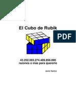 CUBO RUBIK El8tumbado