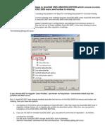 Installation Problem in ArmCAD 2005 UNICODE EDITION