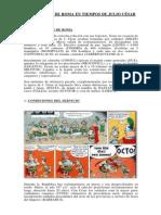 El Ejercito de Roma en Tiempos de Julio Cesar