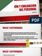 Selección y Evaluacion del Personal