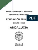 Programación Social and Natural Sciences 5 Andalucía