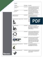 CV61 Accessory Guide