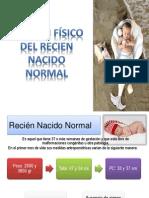 EXAMEN FÍSICO DEL RN NORMAL