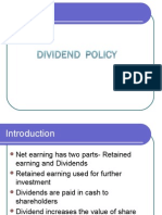 Divident Policy