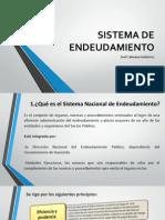 Sistema de Endeudamiento y Presupuesto Publico