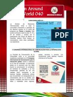 Boletín Around The World N° 040