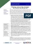 Winning outsourcing strategies